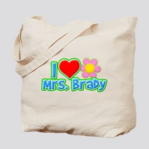 I Heart Mrs. Brady Tote Bag