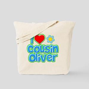 I Heart Cousin Oliver Tote Bag