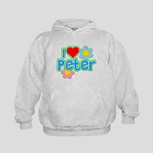 I Heart Peter Kid's Hoodie