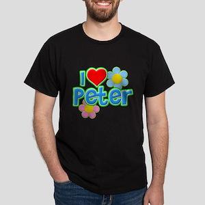 I Heart Peter Dark T-Shirt