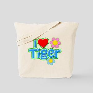 I Heart Tiger Tote Bag