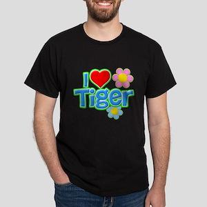 I Heart Tiger Dark T-Shirt