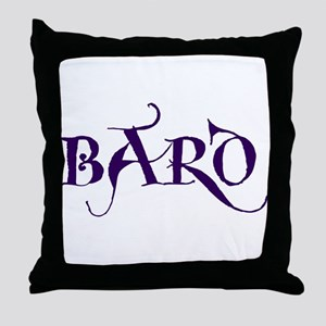 Bard Throw Pillow