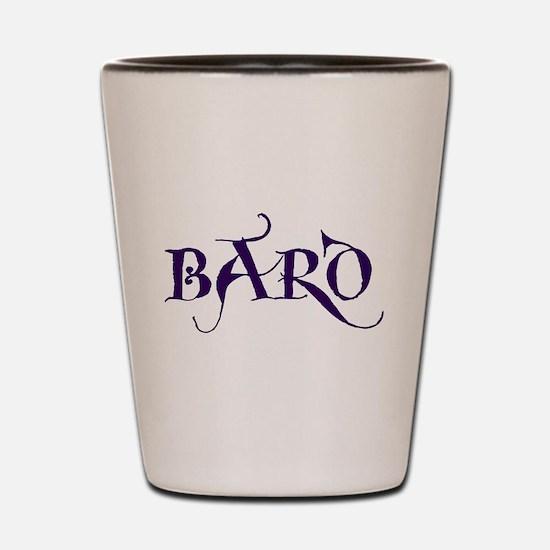 Bard Shot Glass