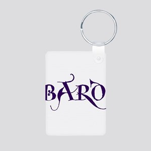 Bard Aluminum Photo Keychain