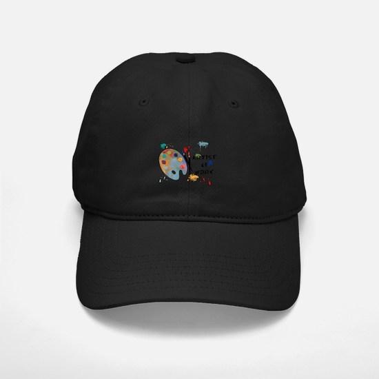 Artist At Work Baseball Hat