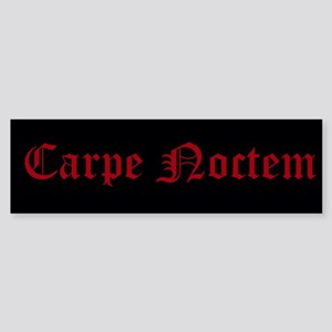 Carpe Noctem Sticker (Bumper)