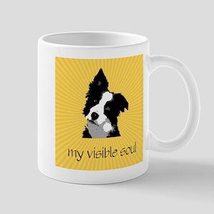 Border Collie Sunburst Mug