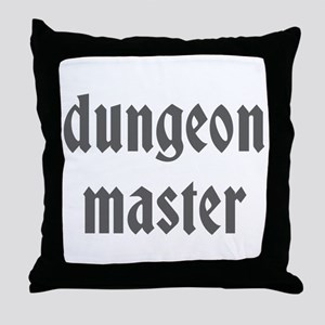 Dungeon Master Throw Pillow