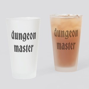 Dungeon Master Drinking Glass