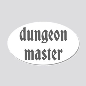 Dungeon Master 22x14 Oval Wall Peel