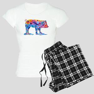 Pigs of Many Colors Women's Light Pajamas