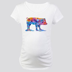 Pigs of Many Colors Maternity T-Shirt