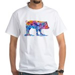 Pigs of Many Colors White T-Shirt