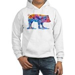 Pigs of Many Colors Hooded Sweatshirt
