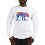 Pigs of Many Colors Long Sleeve T-Shirt