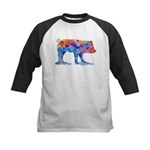 Pigs of Many Colors Kids Baseball Jersey