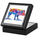 Pigs of Many Colors Keepsake Box