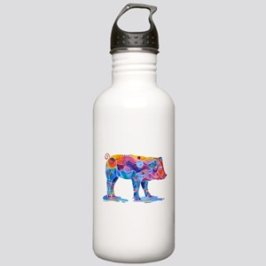 Pigs of Many Colors Stainless Water Bottle 1.0L