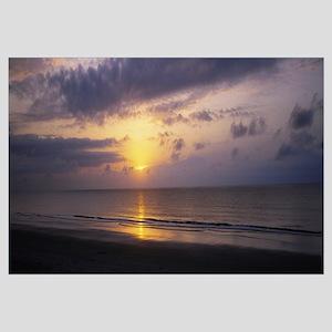 Sunrise over the ocean, Jekyll Island, Georgia