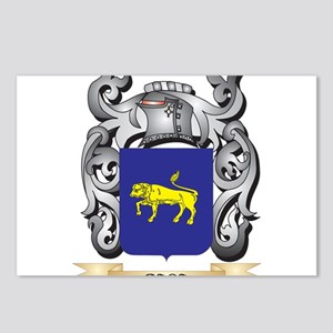 Baca Family Crest - Baca Postcards (Package of 8)