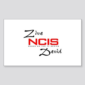 NCIS Ziva David Sticker (Rectangle)
