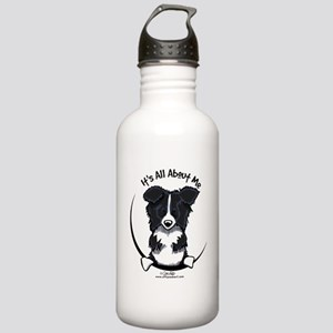 Border Collie IAAM Stainless Water Bottle 1.0L