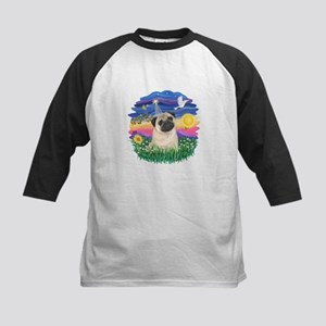 Twilight - Pug #25 Kids Baseball Jersey