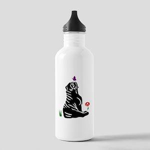 Bulldogs -n- Butterflys Stainless Water Bottle 1.0
