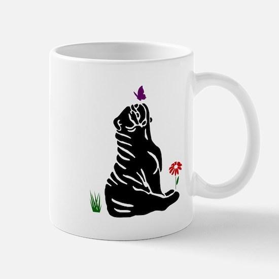 Bulldogs -n- Butterflys Mug