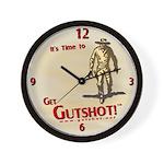 It's time to Get Gutshot - Wall Clock