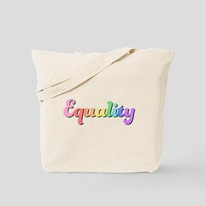 Rainbow Equality Tote Bag