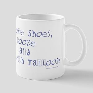 I love (blu) Mug