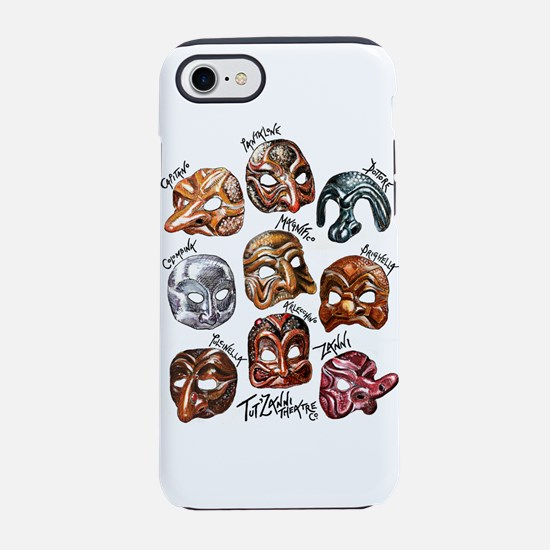 The Masks of Commedia dell'Art iPhone 7 Tough Case
