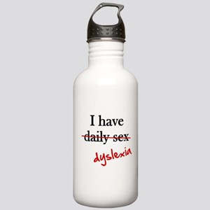 Dyslexia Daily Sex Stainless Water Bottle 1.0L