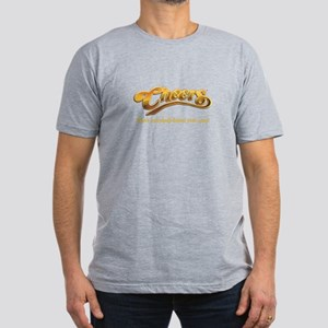 Cheers Everybody Knows Your Name Men's Fitted T-Sh