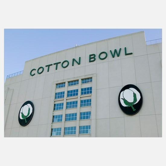 An American football stadium, Cotton Bowl Stadium,