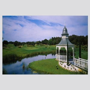 Rotunda in a golf course, Eagle Ridge Golf Course,