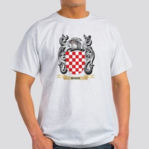 Bach Family Crest - Bach Coat of Arms T-Shirt