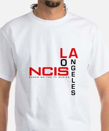 NCIS Los Angeles White T-Shirt