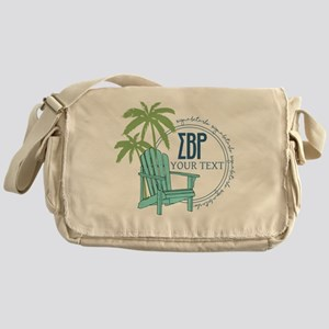 Sigma Beta Rho Palm Chair Personaliz Messenger Bag