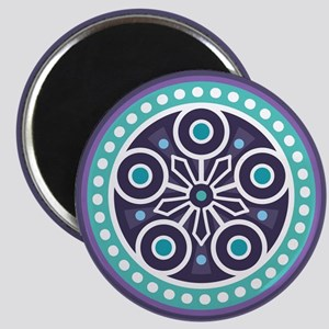 Mysterious Circle Pattern Magnet