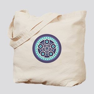 Mysterious Circle Pattern Tote Bag