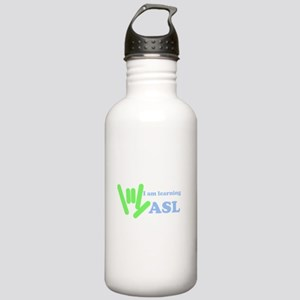Learning ASL Stainless Water Bottle 1.0L