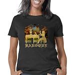 Baroque harpsichord 2 trsp Women's Classic T-Shirt