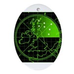 Radar2 Ornament (Oval)