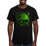 Radar2 Men's Fitted T-Shirt (dark)