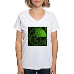 Radar2 Women's V-Neck T-Shirt