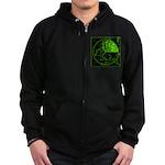 Radar2 Zip Hoodie (dark)