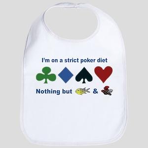 Poker Diet Bib